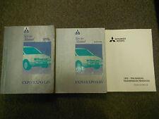 1992 1996 MITSUBISHI Expo Expo LRV Service Repair Shop Manual 3 VOL SET OEM x