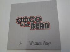 Coco & The Bean Western Ways CD Single (Trip hop)