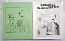 Old Macdonald Had An Apartment House 1969 Barrett 1st Edition W Dj Illustrated