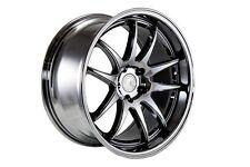 18x9.5/18x10.5 Aodhan DS02 5x114.3 +22 Black Vacuum Rims Fits Gs300 400 G35 Rx7