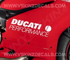 DUCATI Performance Superior Cast Motorbike Stickers Decals 988 966 Supersport
