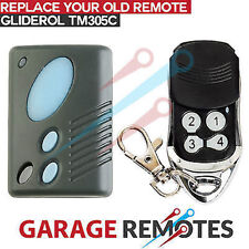 Brand New Remote King RCG01A Gliderol Compatible TM305c Garage Door Transmitter