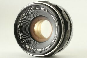 【EXC5+】 Canon 35mm f2 Wide Angle L39 LTM Lens Leica Screw Mount From JAPAN