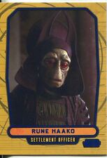 Star Wars Galactic Files Blue Parallel #9 Rune Haako