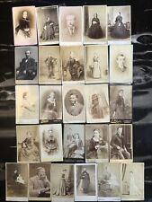 Victorian Cabinet Photographs - Scottish Ladies Gentlemen x26