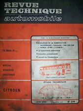 CITROËN Ami 8 & 6 AK-B - Revue Technique Automobile (VW Coccinelle HONDA N400)