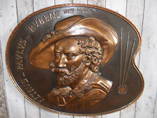 großes altes Rubens Kupfer Wandbild,Kupferbild,Rubens,Wandbild,Maler