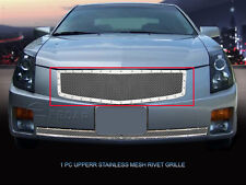 Fedar Fits 2003-2007 Cadillac CTS Full Polished Insert Rivet Mesh Grille Insert
