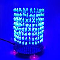 DIY RGB music sound 3 band CH LED audio spectrum display color light organ PCB