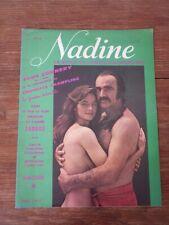 Magazine Genre LUI PLAYBOY / NADINE La Revue du couple d'aujourd'hui Nr 8 1974