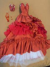 Tonner Tyler Fire Opal Gown. LE 300