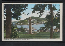 193-QUEBEC -Gaspe, Jacques Cartier Memorial.