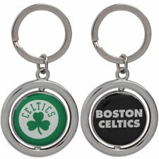 NBA Boston Celtics Spinning Logo Key Ring Keychain Forever Collectibles