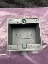 Killark 2fdc 2 Device Box 2 Gang 1 Inch
