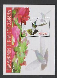 Nevis - 2005, Hummingbirds sheet - MNH - SG MS1878