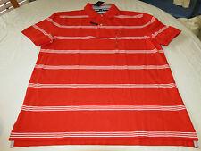 Men's Tommy Hilfiger Polo shirt logo 7871410 La Jolla Red 613 XL Classic Fit