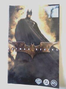57057 Instruction Booklet - Batman Begins - Sony PS2 Playstation 2 (2005) SLES 5