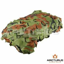 Arcturus Camo Nets - 10' X 10' Heavy-Duty Woodland Camouflage Netting Camoflage