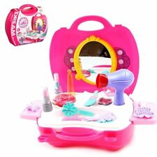 21 PC Fashion Beauty Play Set Toy Kids Travel Gift Pretend Play
