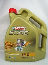 Aceite de Motor Castrol 5W40 5litre Edge TITANIUM5W-40 VW MB Opel Audi Skoda