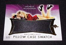 2017 Benchwarmer MICHELLE McLAUGHLIN Dreamgirls PILLOW CASE Swatch/3 PLAYBOY