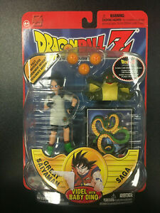Irwin Toy Dragonball Z Videl With Baby Dino Figure