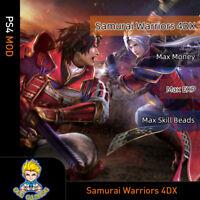 Samurai Warriors 4 DX (PS4 Mod)-Max Money/EXP/Skill Beads