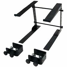 Mountable Table Top or Desk Laptop Stand - Steel Rack - Laptop Keyboard Stand