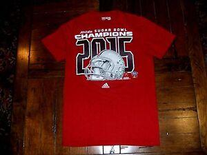 Ohio State Buckeyes 2015 Sugar Bowl Champions Adult Small T-Shirt adidas Go-To