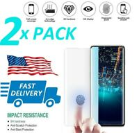 2 PACK GORILLA TEMPERED GLASS SCREEN PROTECTOR FOR SAMSUNG GALAXY S10 S10e S10+