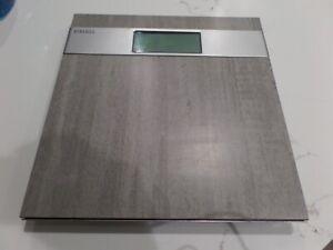 HOMEDICS Grey Stone Digital Bath Scale NEW OUT OF BOX!!