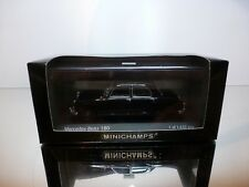 MINICHAMPS 33195 MERCEDES BENZ 180 TAXI - BLACK 1:43 - GOOD CONDITION IN BOX