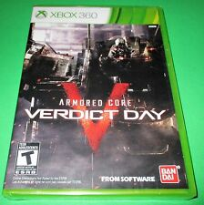Armored Core: Verdict Day Microsoft Xbox 360 *Factory Sealed! *Free Shipping!