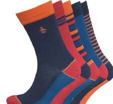 Original Penguin Mens Multi Coloured 5 Pack Socks Size 7 - 11