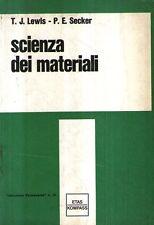 @X30 Scienza dei materiali Lewis Secker ETAS KOMPASS 1969