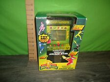 vintage MMPR mighty morphin power rangers electronic talking arcade bank MISB
