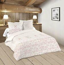 Linge de lit et ensembles roses en 100% coton, 240 cm x 220 cm