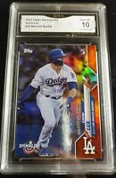 2020 Topps Opening Day GAVIN LUX GMA 10 Red Foil Rookie RC Dodgers SP #70 ++