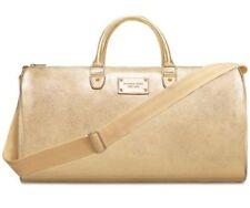 MICHAEL KORS Metallic Gold Duffle Bag/Weekender/Handbag NEW!!!!