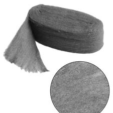 Grade 0000 Steel Wire Wool 3.3m For Polishing Cleaning Remover Non Crumble Hot