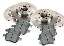 FRONT & REAR DISC ROTORS WITH PADS - HOLDEN COMMODORE VE,VF 3.6L V6 ALL MODELS