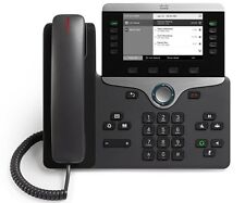 "€ 158+IVA CISCO CP-8811-K9 IP Phone Nero Display 5"" 2xGbE PoE - 1 Anno GARANZIA"