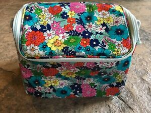 Vera Bradley FAR OUT FLORAL Stay Cooler Lunch Bag Camera Bag Authentic NWT NEW