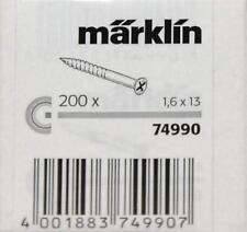 Märklin 74990 H0 - C- Gleis- Schrauben ( Inhalt: 200 Stück ) NEU & OvP