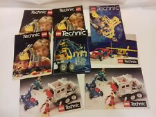Lego Technic instruction leaflets/catalogues etc as shown all included