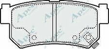 Genuine SsangYong Rexton PAD1462 Brake Pad Set - 4841308051