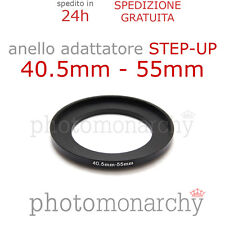 Anello STEP-UP adattatore da 40.5mm a 55mm filtro - STEP UP adapter ring 40.5 55