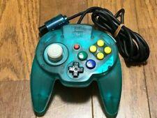 Nintendo 64 Hori Pad Mini Ocean Blue Controller N64 Game Japan