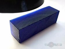 Sapphire Velvety Blue #124/1. Rough 90 gr. SIAMITE. Created Gemstone. US@GEMS