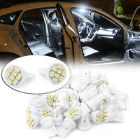 50x T10 8SMD LED Interior Bright Light Bulbs Super White W5W 184 192 193 194 gk